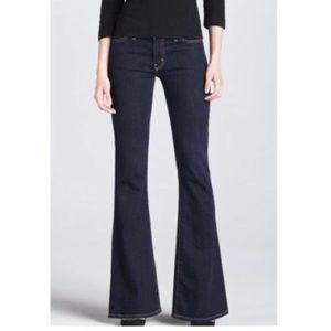NWT CURRENT ELLIOTT The Low Bell Flare Leg Jeans